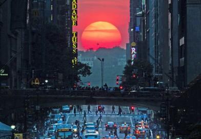 ¿Sabés qué es el Manhattanhenge?