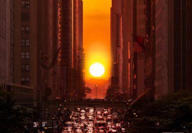 Manhattanhenge, el atardecer más espectacular de Nueva York