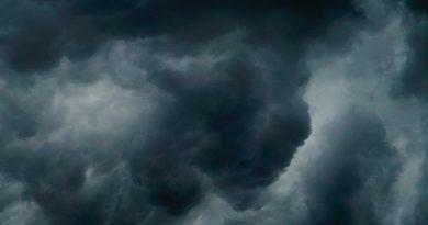 nublado tormenta