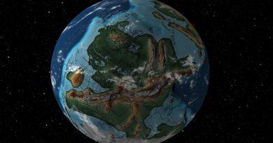 Una herramienta te permite saber dónde estaba tu casa cuando la Tierra era Pangea