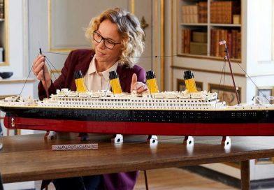 El Titanic LEGO de 9.090 piezas se convierte en el lanzamiento más grande de la marca
